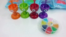 Learn Colors Slime How To Make Colors Jelly Monster Ice Cream Slime Foam Clay DIY