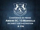 Conférence de presse d'avant Match J06 Amiens SC - OM