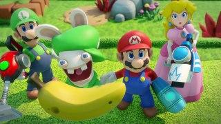 Mario Rabbids Kingdom Battle Live Action Trailers Nintendo S