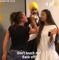 Canadian Politician Jagmeet Singh Handles Heckler With Kindness
