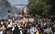 Farnsa'da Macron'a Karşı İlk Protesto! Paris Sokakları Karıştı