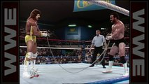 THE ULTIMATE WARRIOR VS HERCULES - CHAIN MATCH - WWF WWE Wrestling - Sports MMA Mixed Martial Arts Entertainment