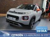 Nouveautés Citroën en direct du Salon de Francfort 2017