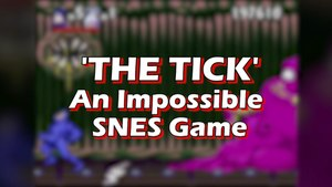 Old School Cool - SNES's 'The Tick' Game