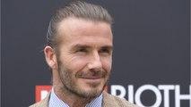 David Beckham Slams Fan Who Says He Had Botox