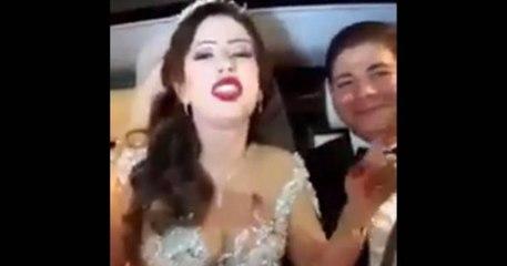 أقوى لقطة : عروسة تونسية تغني في غناية منال عمارة الليلة عرسي . تفرجوا راجلها مبهم مسكين هههه