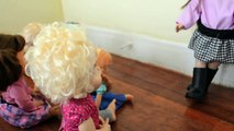 Naughty Baby Alive Molly Clones Herself! Part 4 - Mollys Punishment Baby Alive