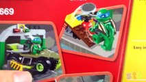 LEGO Teenage Mutant Ninja Turtles (Tortugas Ninja) - Lego Junior (vehículo y guarida)
