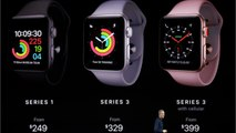 Apple Unveils Apple Watch Series 3 With Built-In Cellular Support