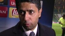 Foot - C1 - PSG : Al-Khelaïfi «C'était magnifique»