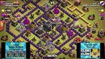 Clash of Clans - Best TH9 Hybrid War Anti Hog Base Layout