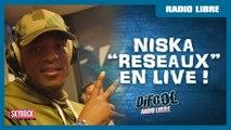 """Niska """"Réseaux"""" en live #LaRadioLibre"""