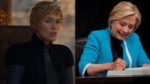 Hillary Clinton compares herself to Game of Thrones' Cersei Lannister