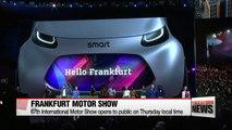 Frankfurt International Motor Show opens Thursday, Kia and Hyundai's latest offerings on display