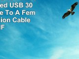 CE Compass 10 FT Feet Superspeed USB 30 Type A Male To A Female Extension Cable MF