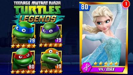 TMNT LEGENDS - Elsa From Frozen
