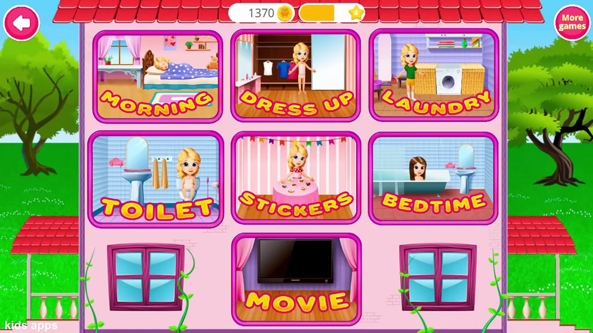 Pretty Alice Daily Fun - Play & Learn Kids Daily Routine & Dress Up Games For Kids