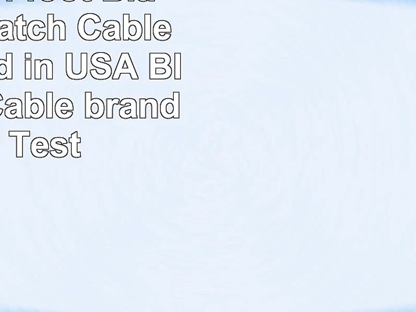 Certified 4 foot Black Cat 6 Patch Cable Assembled in USA Blue Jeans Cable brand with Test