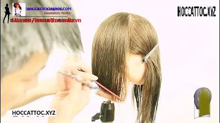 Video Dạy Cắt Tóc, Combination Design Cut Salon Work (Phần 7)