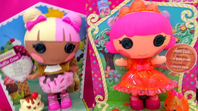 Num Noms Surprise Blind Bag Toy Unboxing & Lalaloopsy Spoons Waffle Cone Giggly Fruit Drop Dolls