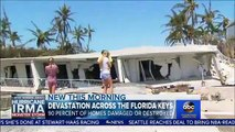 Etats-Unis : 90% des maisons des Keys en Floride touchées ou détruites par l'ouragan Irma