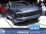 Porsche Cayenne en direct du Salon de Francfort 2017