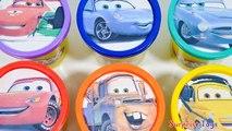 Boîtes des voitures les couleurs Finlandais Apprendre foudre jouer baignoires Disney 2 doh mcqueen mater mcmissile surpr