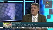 Venezuela continuará haciendo subastas del DICOM