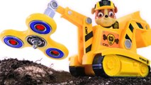 PAW PATROL STOP MOTION _ Fidget Spinner Construction Site PawPatrol Full Episodes Play Doh
