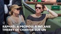 Mélanie Thierry et Raphaël : le chanteur raconte une anecdote insolite sur sa compagne