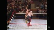RANDY MACHO MAN SAVAGE VS GEORGE THE ANIMAL STEELE (1986) - WWF WWE Wrestling - Sports MMA Mixed Martial Arts Entertainment