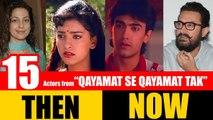 "15 Bollywood Actors from ""QAYAMAT SE QAYAMAT TAK"" 1988   THEN and NOW 2017"