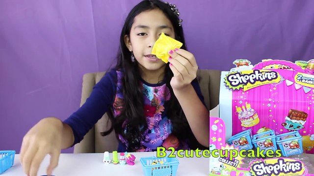Shopkins Blind Baskets-Opening Shopkins Blind Bags-Shopkins Toys|B2cutecupcakes