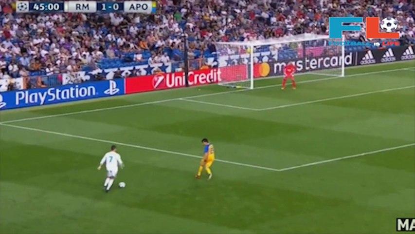 Highlight and all Goal Real Madrid 3-0 Apoel: Cristiano Ronaldo bags a brace | Football Is Life