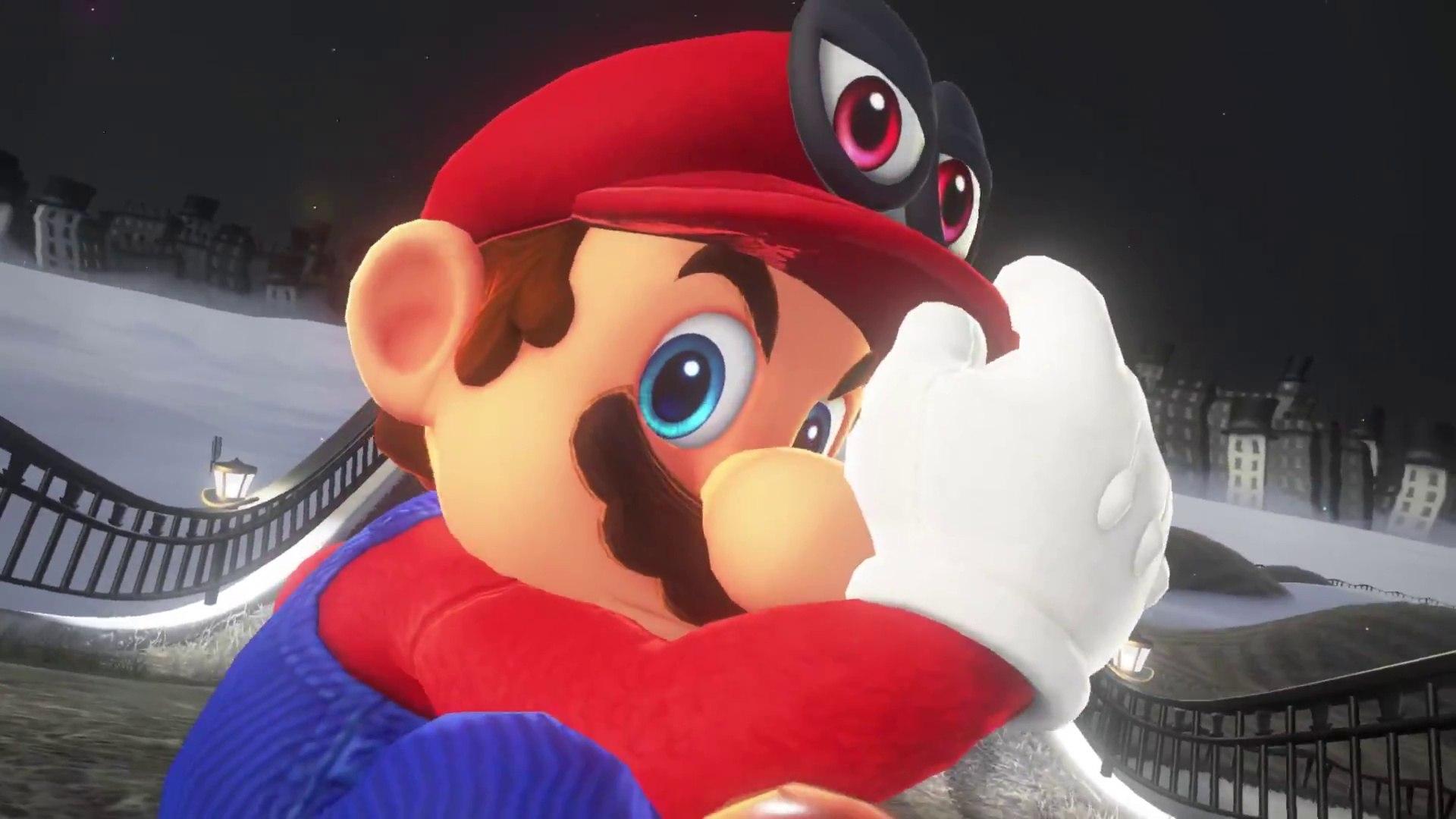Super Mario Odyssey - Tráiler y mucha información del juego de Nintendo Switch
