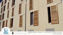 Location logement étudiant - Aix-en-provence - Studéa Aix Galice