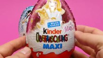 2 KINDER Surprise Maxi Eggs Christmas With My Little Pony And Peanuts Toys + KINDER Mini M