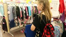 THE SHOPPING CHALLENGE! Christmas Shopping at Target for Winter outfit Annie & Hope