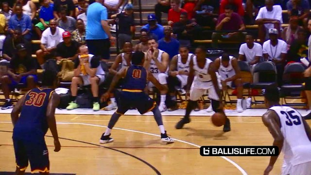 LA Lakers' Julius Randle DUNKED ON at The Drew League!!
