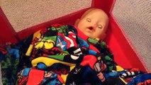 Et bébé née garçon en changeant création poupée de transporter petit vidéo Zapf walmart empile