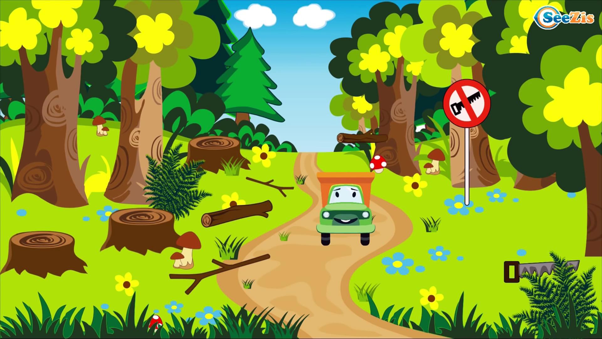 Construction Trucks: The Yellow Truck & Dump Truck & Crane – Cars & Trucks Cartoon for kids