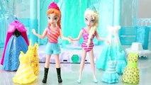 Poupée Robe gelé piscine Princesse jouet vers le haut en haut Elsa anna disney poly poket orbeez princes surprise