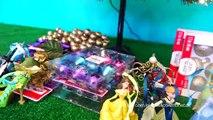Gelé et anna bébés elsa décorer le sapin de Noël des jouets de Noël titi