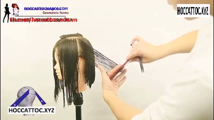Video Dạy Cắt Tóc, Combination Design Cut Salon Work (Phần 8)