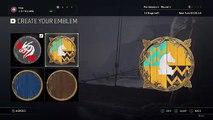For Honor CAPTAIN AMERICA Shield Emblem Tutorial Customization Emblem Creation