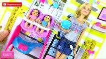 Baby-sitter jumelle dessins animés Poupée Barbie baby-sitter Barbie Barbi poupée Barbie poupée bobblehead