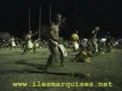 danses et chants ILES MARQUISES 2003