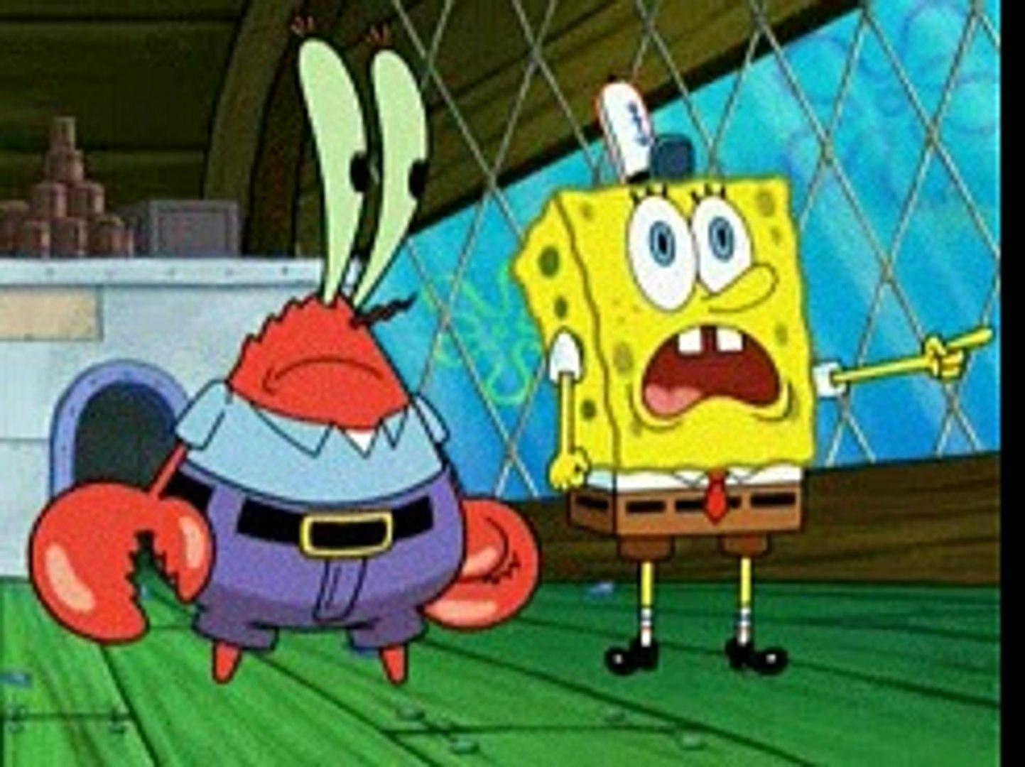 Spongebob Squarepants 605 Spongicus Video Dailymotion