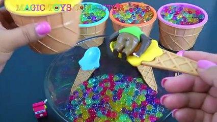 Cônes crème gelé bonjour Salut de la glace minou domestiques jouets Orbeez surprises shopkins olaf zootopia