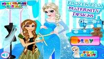Permainan Elsa Frozen Mendesain Baju Hamil/Mengandung Video - Frozen Elsa Maternity Designs